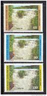 Centrafricaine N ° 677 / 79  XX Chutes De La Kotto Les 3 Valeurs  Sans Charnière TB - Centrafricaine (République)