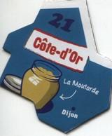 MAGNET DEPARTEMENT COTE D'OR  N°21 - Magnets