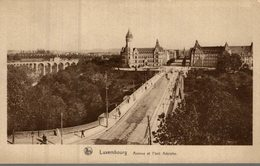 LUXEMBOURG  AVENUE ET PONT ADOLPHE - Luxembourg - Ville