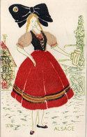 Costumes Régionaux - Alsace - Alsacienne (Feutrine) (118007) - Zonder Classificatie