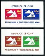 Cuba Nº HB-19/20 Nuevo - Hojas Y Bloques