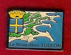 @@ Blason écusson Toulon Le Mourillon @@vi68 - Villes