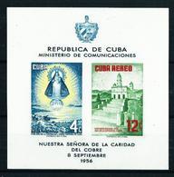Cuba Nº HB-15 (año 1956) Nuevo - Hojas Y Bloques
