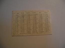 Mini Calendrier,  Recto Verso , 1872, Non Publicitaire - Calendriers