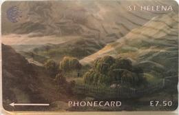 SAINTE-HELENE  -  Cable  § Wireless  -  Maison Napoleon  -  £7,50 - St. Helena Island