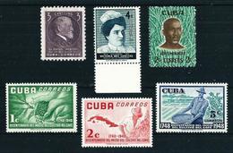 Cuba LOTE (4 Series) Nuevo Cat.10,95€ - Cuba