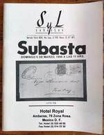 SYL AUCTIONS Shelton Liera Classic Mexico Auction Catalog March 1995 Rare, Essential Literature - Mexico