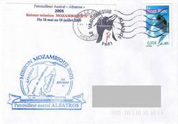 Patrouilleur ALBATROS - Retour Mission Mozambique 2005 - Scheepspost