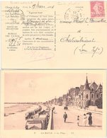 CARTE POSTALE. AVEC TIMBRE PERFORÉ.    /  3 - 1877-1920: Période Semi Moderne