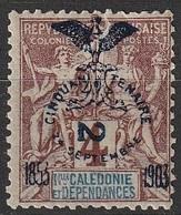 Nouvelle Calédonie 1903 N° 68a MH Faux De FOURNIER Cinquantenaire De La Présence Française (F18) - Nouvelle-Calédonie