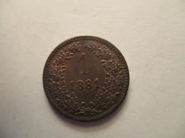 Austria: 1 Kreuzer 1881 A - Autriche