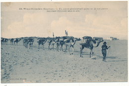MAURITANIE - Un Convoi Administratif Quittant Un De Nos Postes - Mauretanien