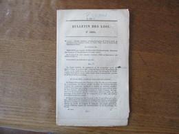 BULLETIN DES LOIS N°1008 DECRET IMPERIAL PROMULGATION DU TRAITE D'AMITIE CONCLU LE 9 MARS 1861 ENTRE LA FRANCE ET  PEROU - Décrets & Lois