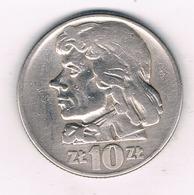 10 ZLOTY 1960  POLEN /1292/ - Pologne