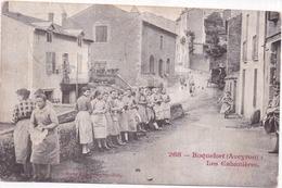 12 ROQUEFORT - Les Cabanières - Très Animée - 1904 - Roquefort