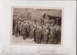 PIT PONIES COAL WAR MINES IN GRAVE PERILL  COAL STRIKE MINERS MINING MINES MINA 20*15CM Fonds Victor FORBIN 1864-1947 - Profesiones