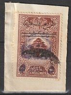 Grand Liban 1945 N° 197 Fiscal Surchargé Surtaxe Obligatoire Au Profit De L'armée (F18) - Used Stamps