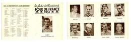Dépliant Tour De France 1951 - Cyclisme