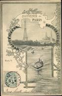 Artiste Cp Orlow, Paris VII. Arrondissement Palais Bourbon, La Tour Eiffel, Seine - Frankrijk