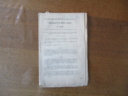 BULLETIN DES LOIS N°1447 DECRET IMPERIAL PROMULGATION DU TRAITE DE COMMERCE ENTRE LA FRANCE ET L'AUTRICHE 11/12/1866 - Décrets & Lois