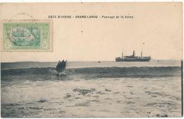 COTE D'IVOIRE, GRAND LAHOU - Passage De La Barre - Côte-d'Ivoire