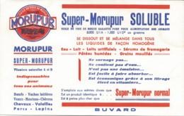 Buvard SUPER MORUPUR SOLUBLE - Agriculture