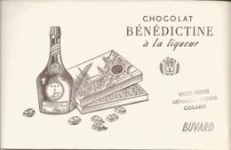 Buvard CHOCOLAT BÉNÉDICTINE à La Liqueur - Alimentaire