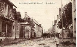ST. GERMAINMONT.  Grande Rue - Frankreich