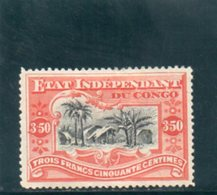 CONGO BELGE 1894-900 * AMINCI/THINNED - Congo Belge