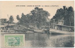 """COTE D'IVOIRE, Lagune De BASSAM - Le """"Djimini"""" à Petit Paris - Côte-d'Ivoire"""