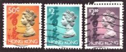 Hong Kong  1992 - Queen Elizabeth II Cote €1.35 - Oblitérés