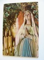 NOTRE DAME DE LOURDES   RELIGIONE CATTOLICA  CARTOLINA PLASTICA 3D TRIDIMENSIONALE  NON    VIAGGIATA  COME DA FOTO - Vergine Maria E Madonne