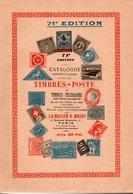 Catalogues A. Maury 1936, 71° édition - Des Timbres-poste Du Monde - France