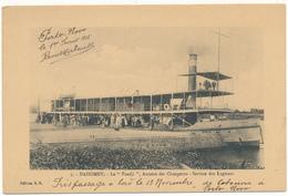 """DAHOMEY - Le """"Faadji"""", Bateau Annexe Des Chargeurs, Service Des Lagunes - Dahomey"""