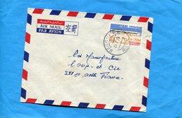 Marcophilie-R C A -lettre>Françe-cad 1974 -stamps N°214  Centre-mère Enfant-c Bokassa - Centrafricaine (République)