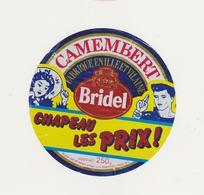 ETIQUETTE DE CAMEMBERT BRIDEL 35 G - Kaas