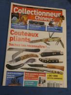 COLLECTIONNEUR & CHINEUR. N°114. 18/11/2011. COUTEAUX PLIANTS. LIVRE DE SCIENCE FICTION. FLY-TOX. TRAINS JOUETS. - Giornali
