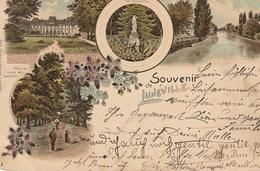 CPA 54 (Meurthe Et Moselle) LUNEVILLE / SOUVENIR DE .../ CARTE PRECURSEUR MULTI-VUES - Luneville