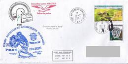 TAAF - Patrouilleur Albatros - Ile Kerguelen. Base Port Aux Français. Mission N°1/2007. Police Des Pêches. - Brieven En Documenten