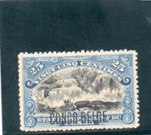 CONGO BELGE 1908 * - Congo Belge