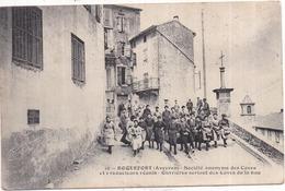 12 ROQUEFORT - Société Anonyme Des Caves Et Producteurs Réunis - Ouvrières - Très Animée - 1914 - Publicité Au Verso - Roquefort