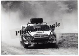 Autos Voitures Automobiles Cars - Photo De Presse Originale - LANCIA RALLY 037 MARTINI - Safary Rallye KENYA - Automobili