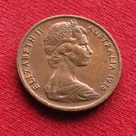 Australia 1 Cent 1976 KM# 62  Australie Australien - Australie