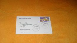 ENVELOPPE FDC DE 1966.../ REPUBLIQUE DU CONGO..MISE EN SERVICE DU DC - 8F AIR AFRIQUE CACHETS BRAZZAVILLE + TIMBRE - FDC