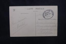 """FRANCE / ALLEMAGNE - Oblitération Ambulant """" Strasbourg / Saales """" Sur Carte Postale Pour Argenteuil - L 53733 - Poststempel (Briefe)"""
