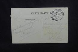 """FRANCE / ALLEMAGNE - Oblitération Ambulant """" Strasbourg / Saales """" Sur Carte Postale Pour Asnières - L 53734 - Poststempel (Briefe)"""