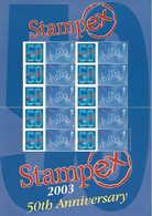 Gran Bretagna, 2003 50° Del Convegno Filatelico Stampex Smiler, Perfetto - Personalisierte Briefmarken