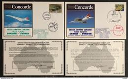 Premier Vol - Concorde - British Airways - London - Sydney - 1985 - Concorde