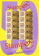Gran Bretagna, 2003 50° Del Convegno Filatelico Stampex  Orsetto, Smiler, Perfetto - Personalisierte Briefmarken