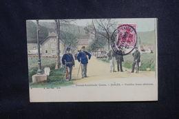FRANCE / ALLEMAGNE - Oblitération Ambulant Strasbourg / Saales Sur Carte Postale Pour Argenteuil - L 53736 - Poststempel (Briefe)